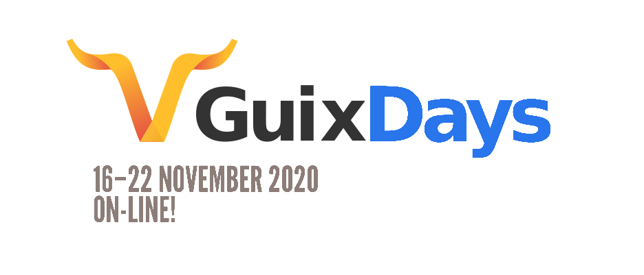 picture of a banner or logo from GNU Guix Day Conference 2020