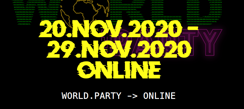 picture of a banner or logo from World.party -> Online
