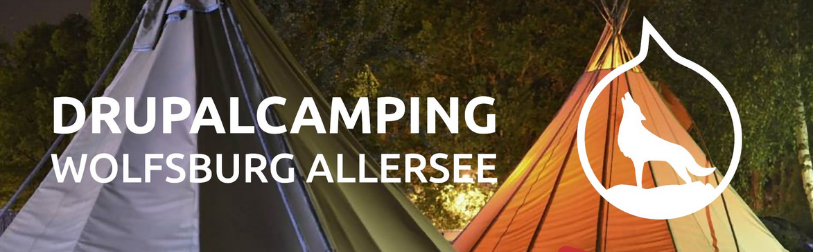 picture of a banner or logo from DrupalCamping am Allersee